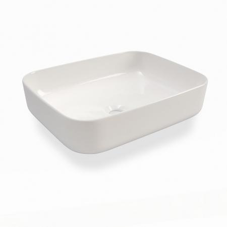 Set de baie cu 4 piese YOKA , Melamina/Aluminiu/Abs/Sticla/Ceramica/Metal, Gri,  120x45x190 cm3