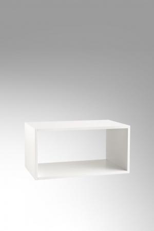 Set de baie cu 6 piese PERTH, Melamina/Aluminiu/Abs/Sticla/Ceramica/Metal, Gri, 140x46.5x190 cm7