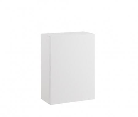 Set mobilier pentru baie 8 piese PERTH, Melamina/Aluminiu/Abs/Sticla/Ceramica/Metal, Alb/Maro deschis, 131x46.5x190 cm6