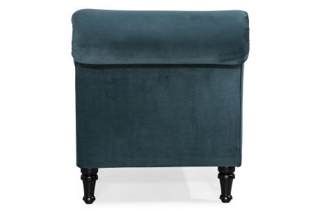 Sezlong living Diana, Albastru verzui, 165x88x70 cm2