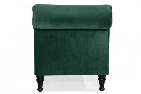 Sezlong living Diana, Verde inchis, 165x88x70 cm2