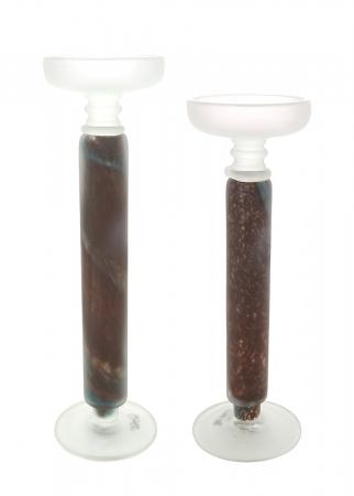 Sfesnic MONDO, sticla, 35.5x11.5 cm2