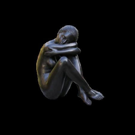Statuie de bronz  NUDE WOMEN, 37x20x17 cm0