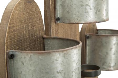Suport de perete pentru sticle de vin CACTUS, 40X9.5X58 cm, Mauro Ferretti6