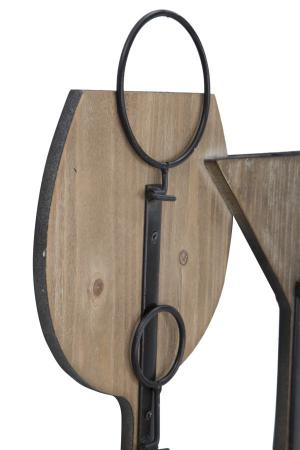 Suport de perete pentru sticle de vin GLASS, 71X12.5X41.5 cm, Mauro Ferretti8