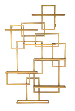Suport de perete pentru sticle GLAM VERTICAL (cm)  50X10X79.50