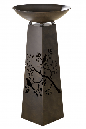 Suport flori BIRD TWIG, metal, 102x50 cm0