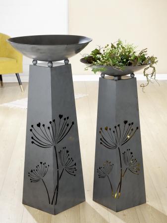 Suport flori BLOSSOM, metal, 102x50 cm1