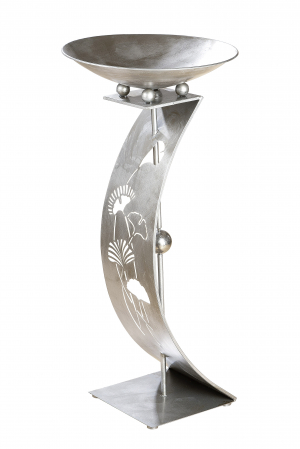 Suport flori GINKGO, metal, 110x50 cm1