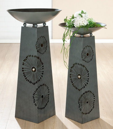 Suport flori DANDELION, metal, 117x58 cm1