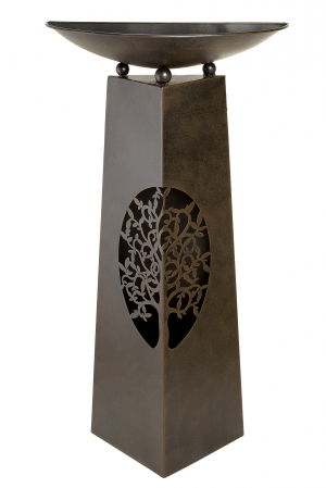 Suport flori TREE, metal, 102x25x50 cm0