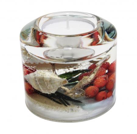 Suport lumanare COAST, sticla, 6.5x7 cm2