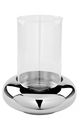 Suport lumanare DELPHI, metal/sticla, 24.8 cm, Fink [1]