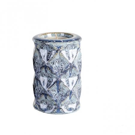 Suport lumanare KARO, ceramica, 12x8 cm0