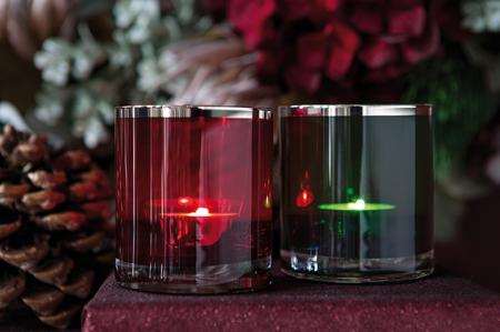 Suport lumanare KELLY, sticla, 8 x 9 cm2