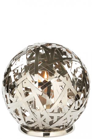 Suport lumanare MOLA, aluminiu/nichel/inox, 25 cm, Fink0