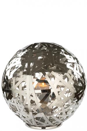 Suport lumanare MOLA, aluminiu/nichel/inox, 50 cm, Fink0