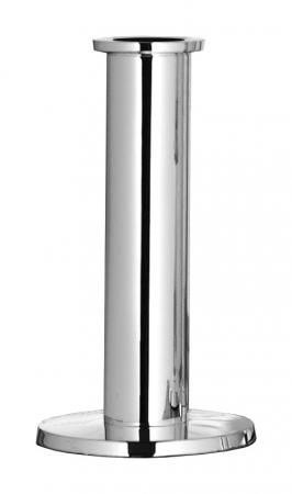 Suport lumanare STRATO, placat cu nichel, 18x10 cm