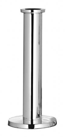 Suport lumanare STRATO, placat cu nichel, 24x10 cm