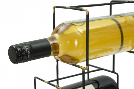 Suport pentru 3 sticle BRIGHT (cm) 25X15X27 5