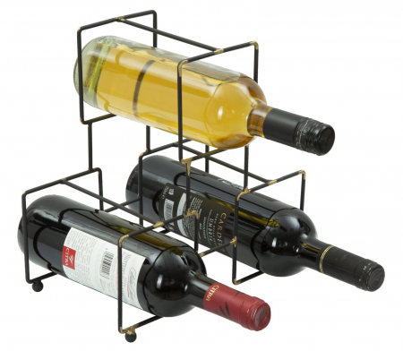 Suport pentru 3 sticle BRIGHT (cm) 25X15X27 4