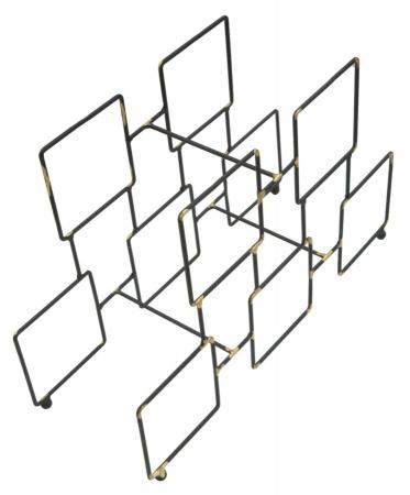 Suport pentru 5 sticle, 0X15X26.5 cm, Mauro Ferretti4