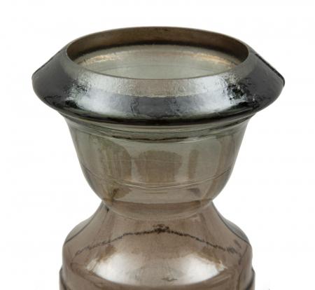 Suport pentru lumanare BROWN, sticla reciclata, (cm) Ø 15X40 3