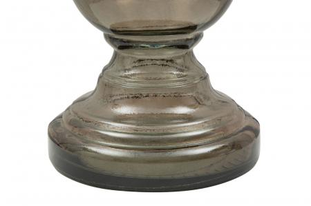 Suport pentru lumanare BROWN, sticla reciclata, (cm) Ø 15X40 2