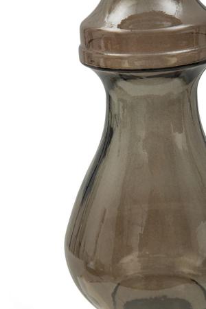 Suport pentru lumanare BROWN, sticla reciclata, (cm) Ø 15X40 4