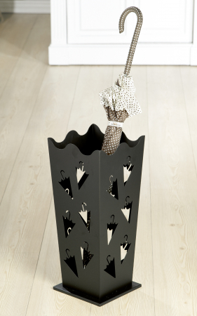 Suport pentru umbrela, metal, 21x21x50 cm0
