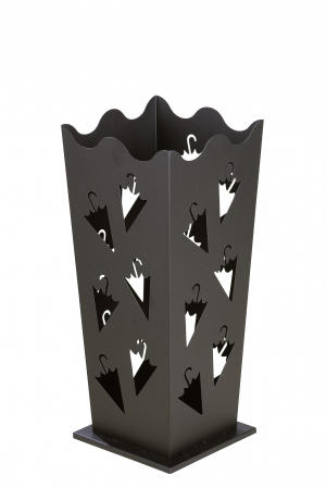 Suport pentru umbrela, metal, 21x21x50 cm1