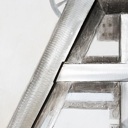 Tablou 3D COAL MINE, panza/aluminiu, 100x80x4 cm3