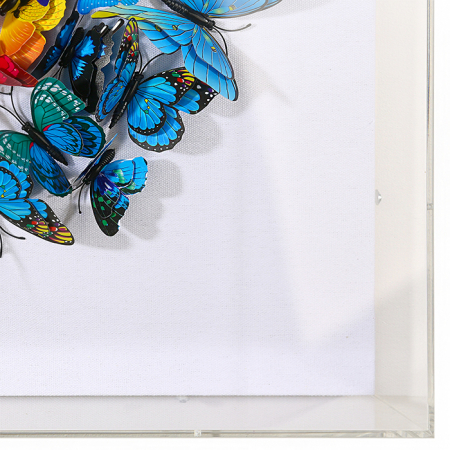 Tablou BUTTERFLY, 60x60x6 cm1