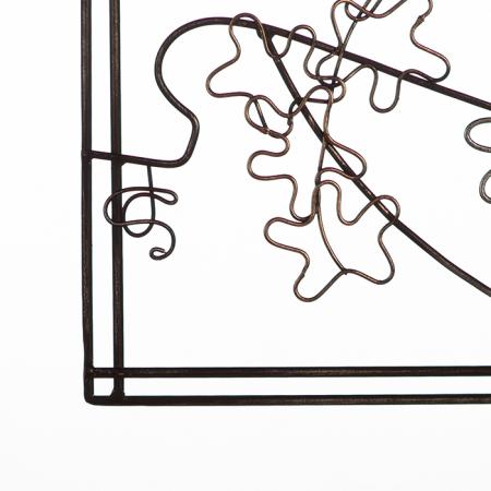 Tablou MADAME, metal, 60x39 cm4