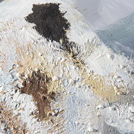 Tablou  MOUNTAIN, panza/aluminiu, 150x100x4 cm1