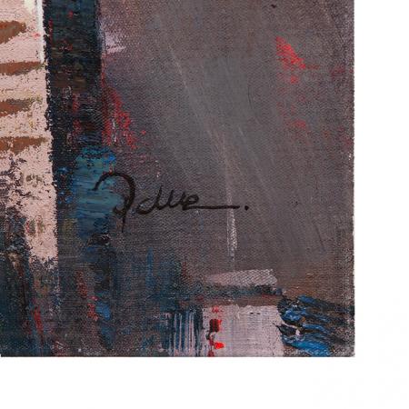Tablou SKYLINE, panza, 140x70x3.5 cm5