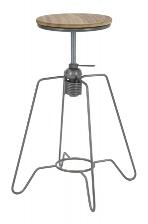Taburet ajustabil pe inaltime HEINTRECK (cm) Ø 39X55-701