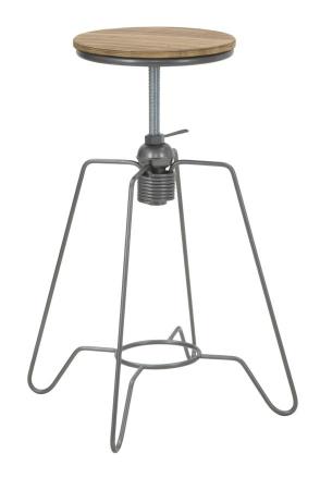 Taburet ajustabil pe inaltime HEINTRECK (cm) Ø 39X55-703
