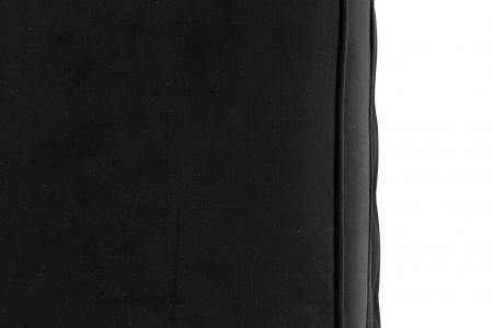 Taburet  Chesterfield, Negru, 75x45x70 cm4