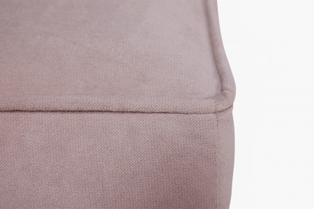 Taburet  Chesterfield, Roz, 75x45x70 cm3