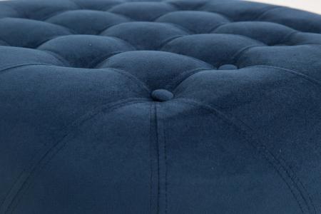 Taburet  Diana, Albastru petrol, 80x44x80 cm2