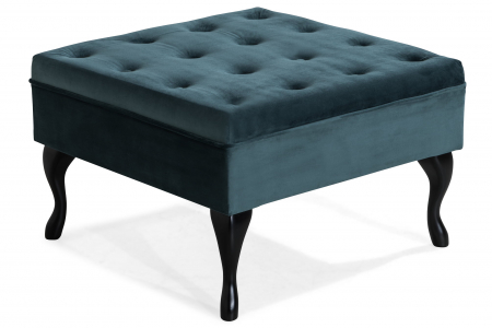 Taburet  Diana, Albastru verzui, 70x44x70 cm1
