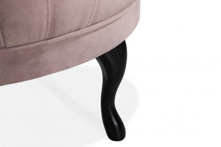 Taburet  Diana, Roz, 80x44x80 cm4