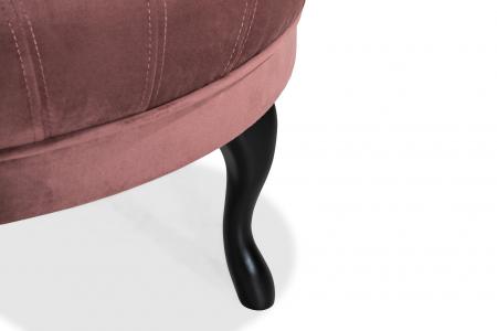 Taburet  Diana, Roz inchis, 80x44x80 cm4