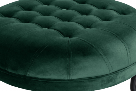 Taburet  Diana, Verde inchis, 80x44x80 cm2