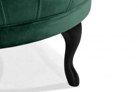 Taburet  Diana, Verde inchis, 80x44x80 cm4