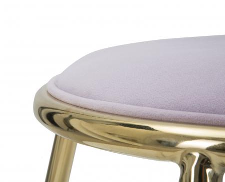 Taburet EMILY, roz , 45X45 cm, Mauro Ferretti6