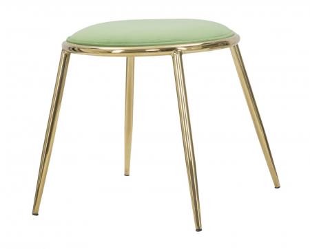 Taburet EMILY, verde, 45X45 cm, Mauro Ferretti4