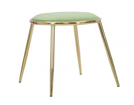 Taburet EMILY, verde, 45X45 cm, Mauro Ferretti3