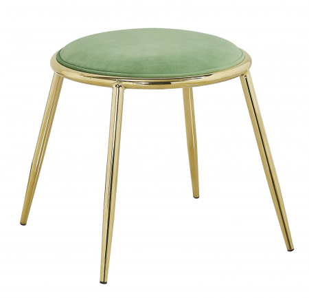 Taburet EMILY, verde, 45X45 cm, Mauro Ferretti0